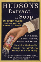Advert For Hudson's Extract Of Soap 6199